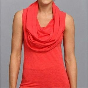 Lucy Body and Mind Tunic Coral Women's Size Large
